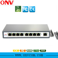 HD Security total 9 pors poe switch ethernet, cctv camera system 4 poe ports poe switch ethernet