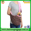 Pet dog cat sling carrier transport bag