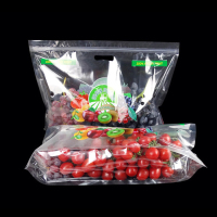 fresh fruit protection packaging plastic grape transparent bag