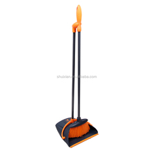Windproof Household Cleaning Tool Long Handle Broom and Dustpan Set