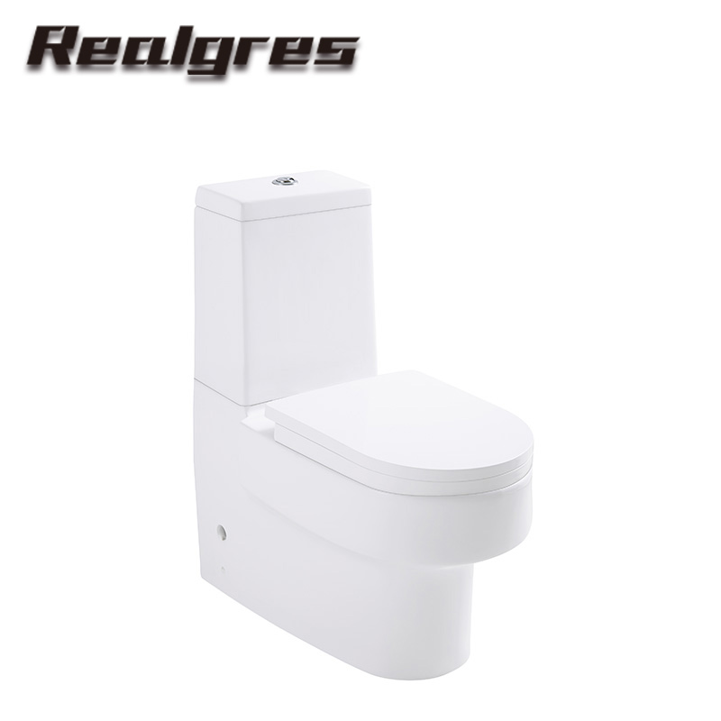 H043 Bathroom Square Toilet Suite Bath And Toilet Dual Flush Easy Clearn Toilet Products
