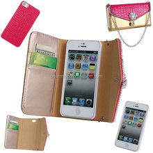 Handbag Pattern 2 in 1 Wallet Leather Case For iPhone 5 5S