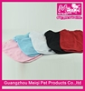 Wholesale plain dog t shirt pure color summer pet clothes on sale good hot pet clothes