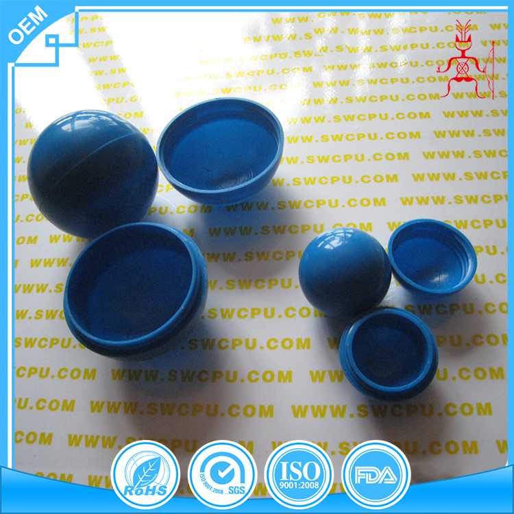 Half openable Plastic Hollow Ball with Screw