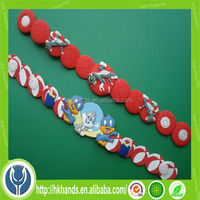 2014 china World Cup promotional keychain embossed key chain
