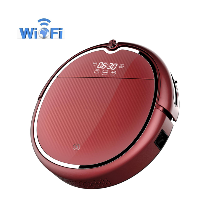 Newest High Technology Smart Auto Robot Vacuum Cleaner 2018 with wifi floor wet cleaning robots