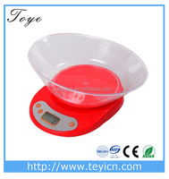 New design professional manufacturing classic electronic kitchen scale,auto tare fruits kitchen scales