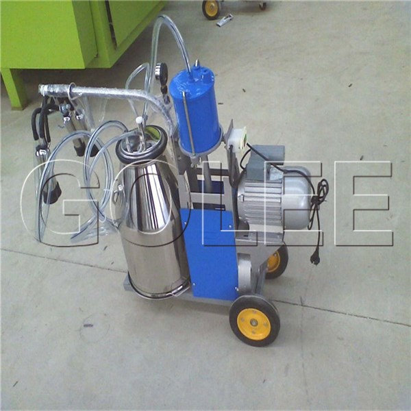 mobile milker, single barrel milking machine, portable milker