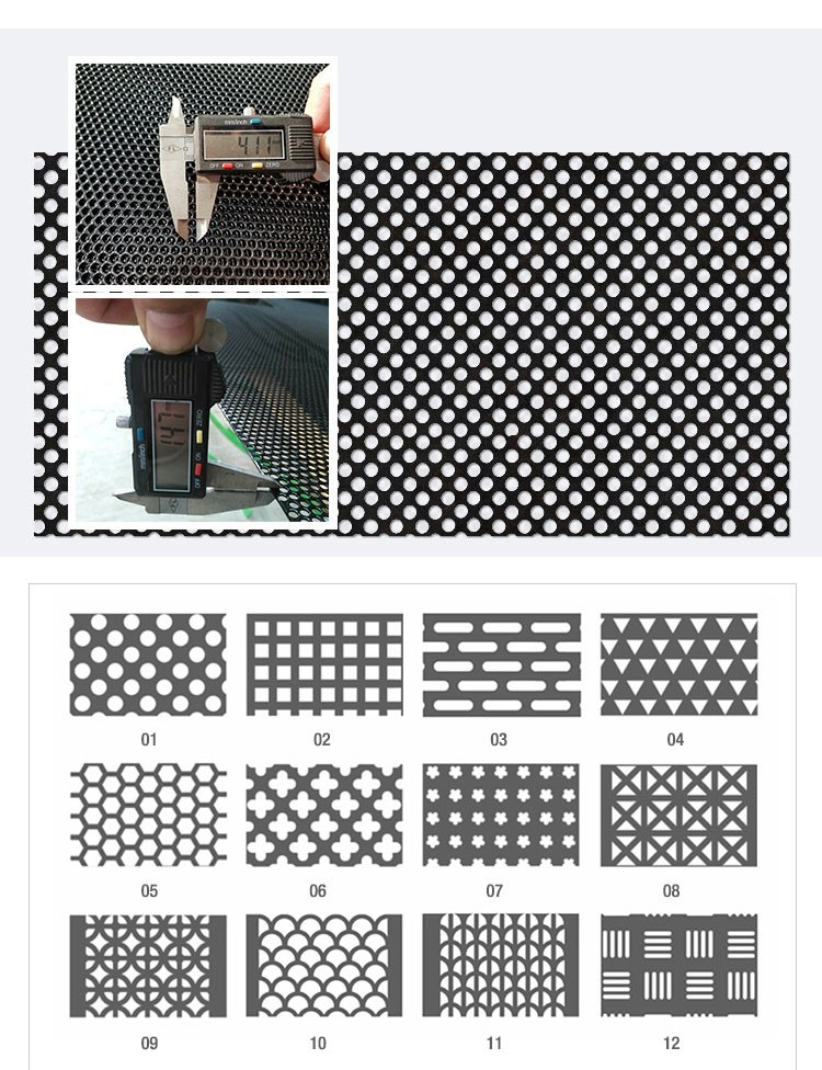 perforated metal mesh curtain for living room deco
