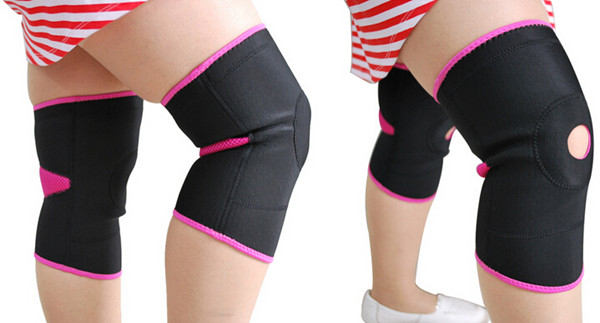 Aofeite AFT- HX001 Open Knee Patella Support Brace Neoprene Gym Ligament Tendon Guard