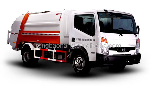 New energy Dongfeng pure electric compression type garbage truck