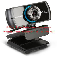 2017 Newest Patent HD Stream Webcam 1536/1080P Wide Angle PC Camera for PC Mac Laptop Notebook and Smart TV