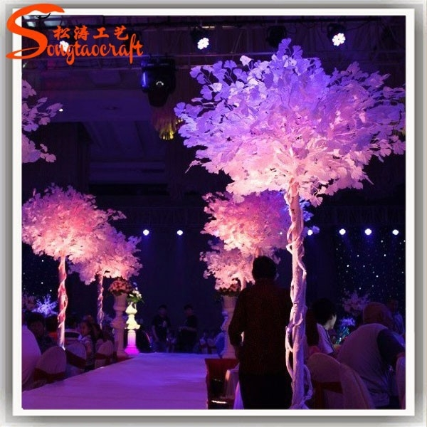 Wedding wishing tree white ginkgo tree wedding table tree centerpieces