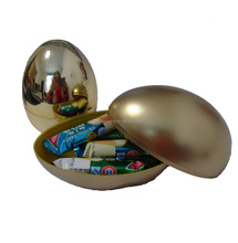 Plastic Golden Easter egg
