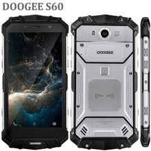 New model DOOGEE S60 5.2'' FHD OctaCore 6GB 64GB Wireless Charge IP68 Waterproof Rugged smartphone android 7 mobile phone NFC