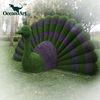 OA5274 Artificial fake grass wall decor