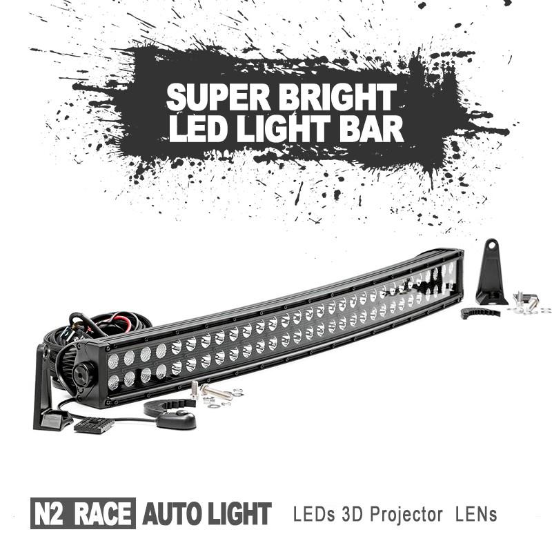 N2 자동차 액세서리 최신! 높이 전원 방수 100 와트 20 인치 자동차 ...