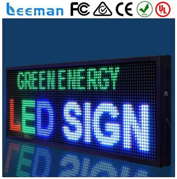 7 inch led screen lumini alibaba led scrolling message sign rgb to usb adapter