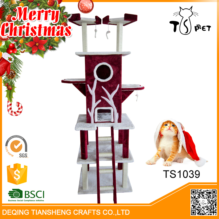 Christmas Sales Pet Toys Type and Cats Application Euro Cat Furniture