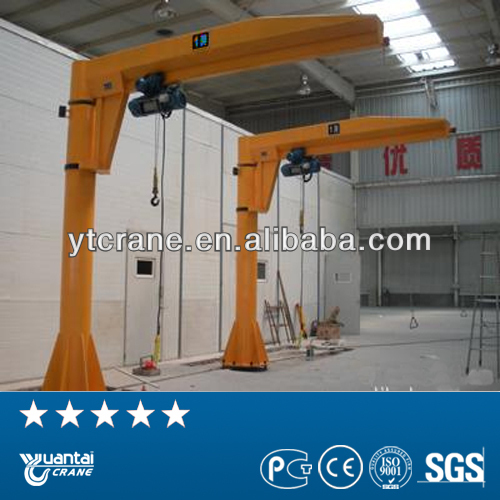 electric hoist columned mounted fixed loader jib crane
