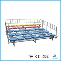 Low Cost indoor mobile stadium chair grandstand seating system