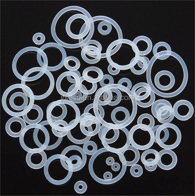 Customized colored different size seal food grade silicone o ring gasket
