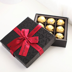 Different Shape Gift Box Design Chocolate Box