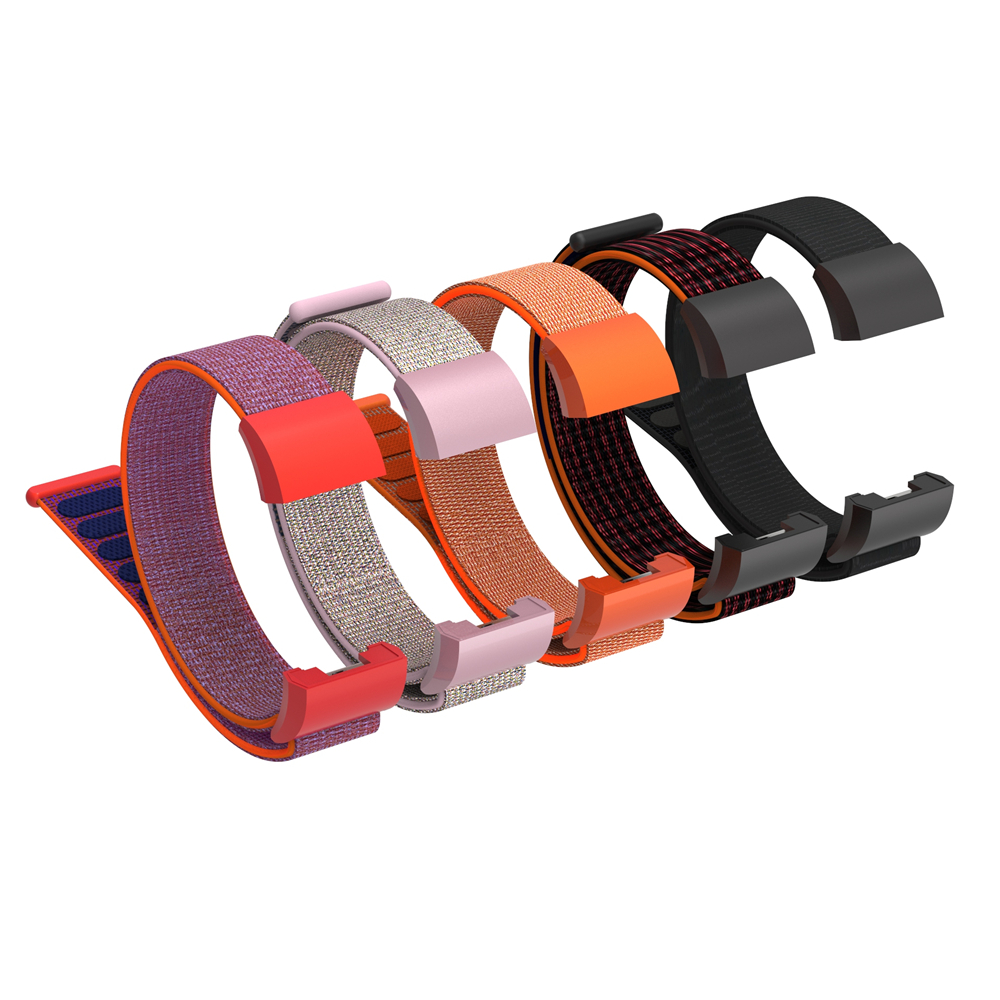 ODM Hold mi 7052 series comfortable purple red color band watch strap for fitbit charge 2
