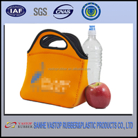 Waterproof hot sell neoprene cooler bag for food lunch box
