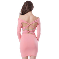 Wholesale pink latex sexy clubwear