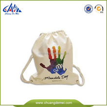 recycling cotton bags drawstring