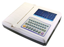 White Twelve Channel ECG Machine China Supplier