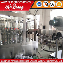 Bulk price rotary carbonated filling machine/3 in 1 beverage filling machine