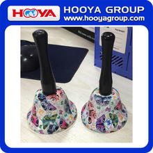 Floral printing bell call bell decorative bell for promotion