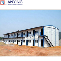Prefabricated buildings, temporary buildings on site
