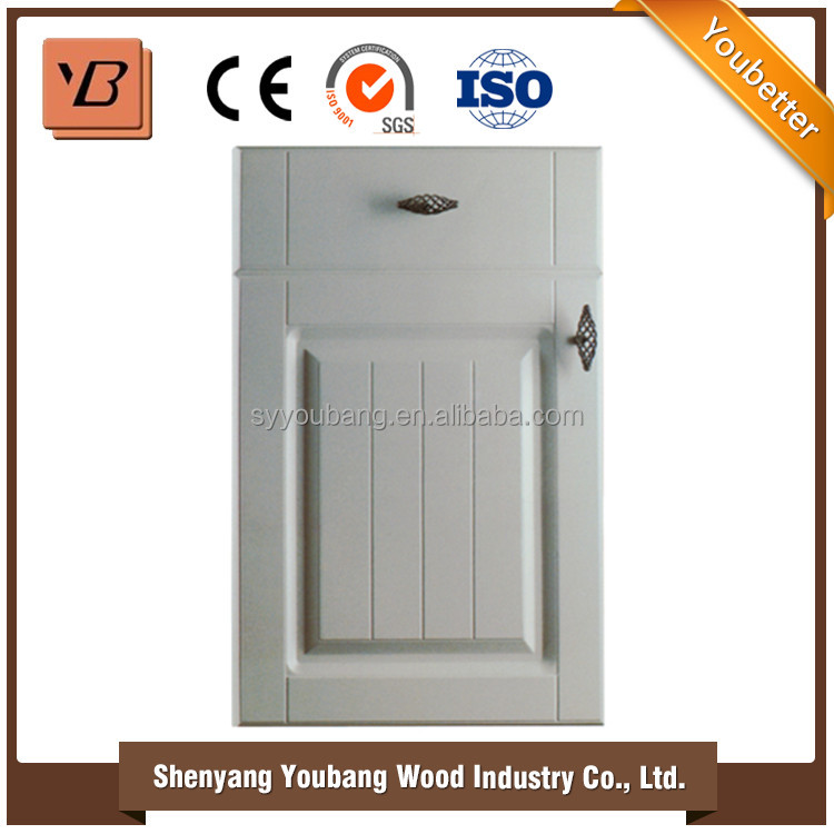 household furniture modern pvc door new model kitchen cabinet