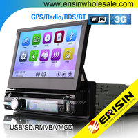 "Erisin ES7901M 7"" Single Din Car GPS Navigation System with WiFi 3G"