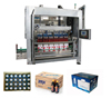 Pneumatic driven type automatic carton packaging machine