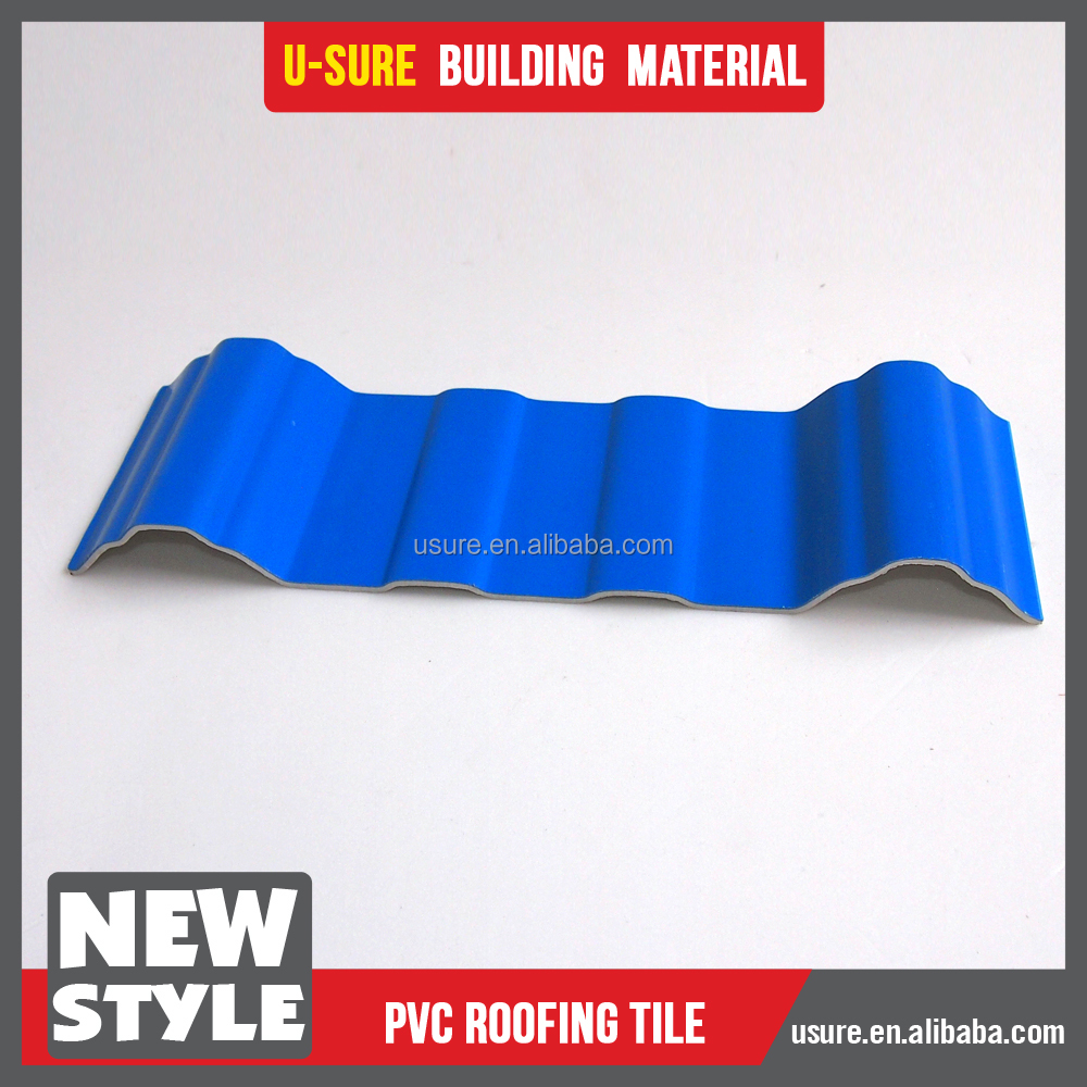 colored corrugated roofing sheet plastic spanish roof tile