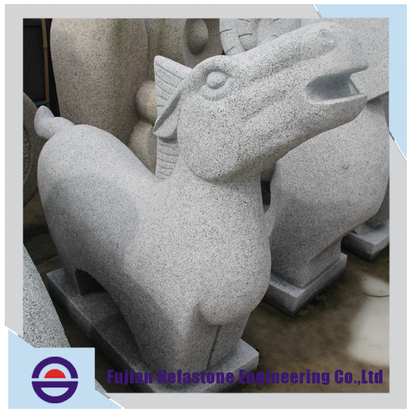 New Arrival Worthy Statue Products Abstract Stone Garden Decoration Animal Head Sculpture