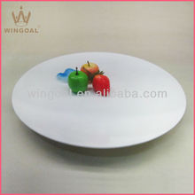 triangular ceramic plain white plate, ceramic plates