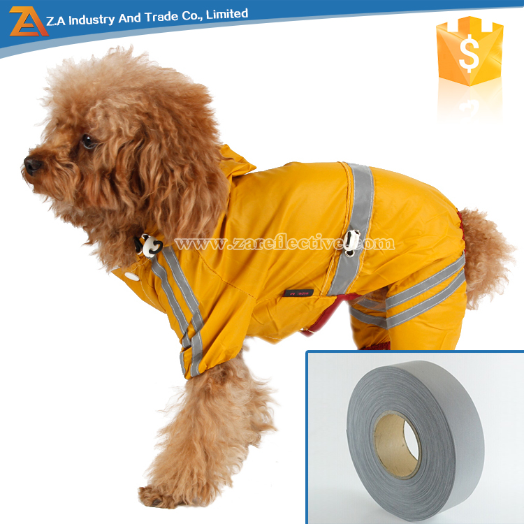 EN47 Reflective Brightness Durable Waterproof Reflective Strip For Safety Dog Vest