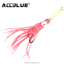 AllBlue Wholesale Fishing Squid Jig Lures For Fishing Lure With Skirts