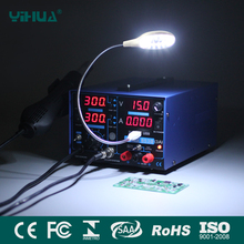 YIHUA 853D 3A USB SMD Soldering Station With LED Light