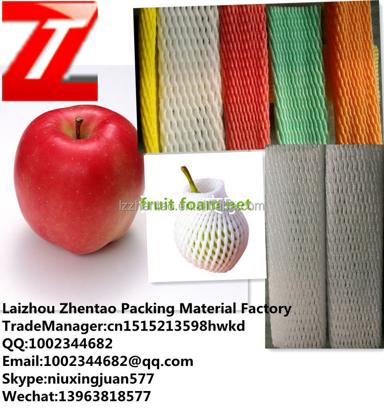 new hot selling plastic foam wrap mesh netting for fruit vegetable bottle rose bud packaging