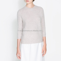 Prefect design rollneck pure cashmere knitted womens sweater for winter