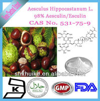 natural Esculin hyrate/Buckeye /horse chestnut extract power