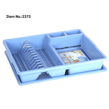HQ2373 Taizhou factory wholesale with lid plastic kitchen dish rack