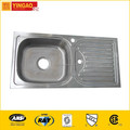 305 Modern design free standing stainless steel sinks