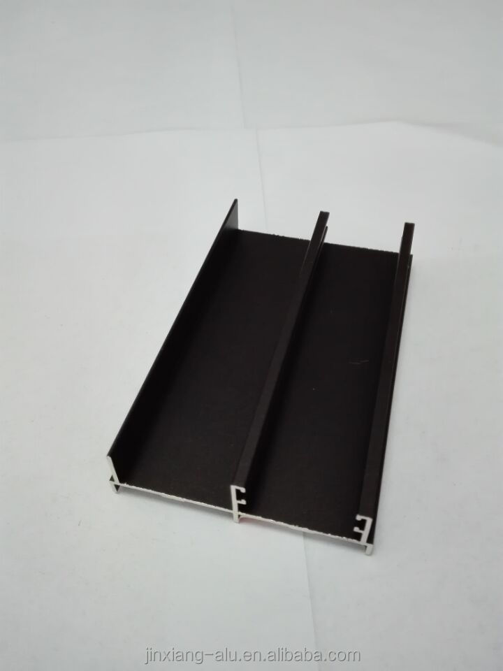 anodizing black aluminium door frame
